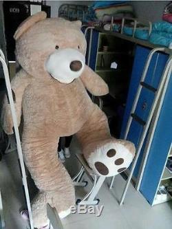 Giant Big Huge USA Teddy Bear Plush Stuffed Animal Toys Doll Valentine Xmas Gift