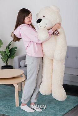 Giant Teddy Bear XXL Large Animal Stuffed Plush Toy Huge Birthday Wedding Gift