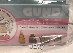 Gund Pusheen Series 11 Winter Wonderland Surprise Plush Blind Box Of 24, New