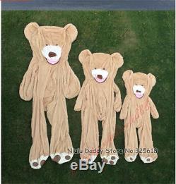 HUGE GIANT TEDDY BEAR HIGH QUALITY PLUSH LIFE SIZE ANIMAL80-260CN No Stuffing