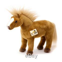 Haflinger horse collectable plush soft toy Kosen / Kösen 2571