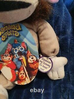 Hanna Barbara Collection Of 3 Banana Splits toys- voicebox versions (1 working!)