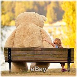 Huge Giant Over 8 Feet Teddy Bear Stuffed Plush Animal Jumbo Over 100 Inches NEW