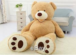 Huge Jumbo 93 Teddy Bear 8 Foot Stuffed Plush Animal hugfun Toy Gigantic Large