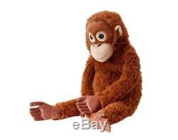 IKEA DJUNGELSKOG Orangutan MONKEY Soft Toy Big Plush Animal Stuffed 63cm pup10