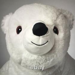 IKEA Snuttig PLUSH POLAR BEAR Soft Stuffed Animal Toy