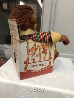 Ideal J. Fred Muggs 1955 VTG Stuffed Animal Plush Doll Monkey NBC TV Show Chimp