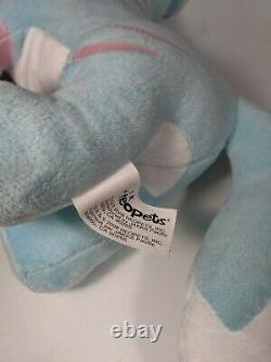 JAKKS Pacific NEOPETS Series 3 Jumbo STRIPED LUPE 15 Plush Blue/Pink 2008