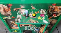 JUNGLE WORLD Claw Crane Plush Stuffed Animal Arcade Machine Animal Decals