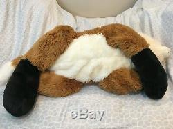 Jaag Giants 48 Red Fox Plush Stuffed Rare Soft large giant NWOT