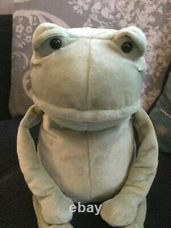 Jellycat Fergus frog medium with tags! Incredibly rare & highly sort after