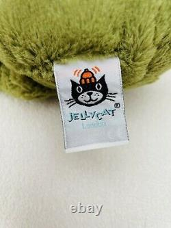 Jellycat Medium Bashful Frog Soft Toy Baby Comforter Soother Green