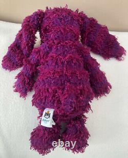 Jellycat Special Edition Jamie Bashful Bunny Rabbit Soft Toy Comforter Purple