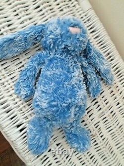 Jellycat Special Edition Nicky Bunny Mottled Blue Rabbit 9 Soft Plush Toy Ltd