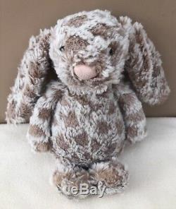 Jellycat Special Limited Edition Bashful Harry Bunny Rabbit Soft Toy Baby Beige
