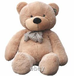 Joyfay 63 160cm 5 ft Giant Teddy Bear Stuffed Plush Toy Birthday Gift