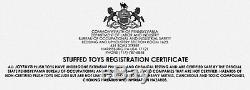 Joyfay 91'' White Giant Teddy Bear Stuffed Plush Toy Valentine Gift 230cm