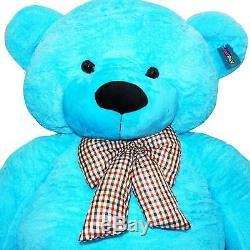 Joyfay Giant Teddy Bear 78 200cm Blue Stuffed Plush Toy Valentine Gift