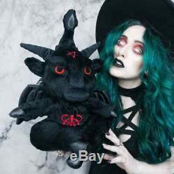 KILLSTAR KREEPTURES Dark Lord Blackout Plush Toy Devil Gothic Black RARE NWT
