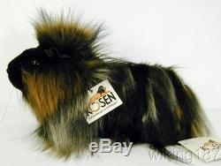 KOSEN Made in Germany NEW Long Haired Multi Color Guinea Pig Mikado Plush Toy