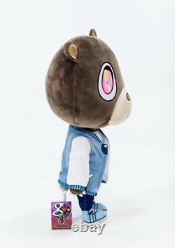 Kanye West Graduation Bear Plush Toy Rare Ye GOAT Pink Polo Donda