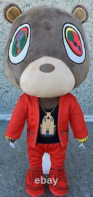 Kanye West Runaway Bear Plush Toy MBDTF Rare Plays Runaway Piano Keys