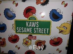 Kaws x Sesame Street Uniqlo Plush Toy Box Set New In Box