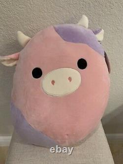 Kellytoy Squishmallow Patty The Cow 16 Stuffed Animal Soft Plush RARE NWT