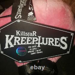 Killstar Dark Lord Bubblegum Limited Edition Pink Baphomet 1/666 goth plush