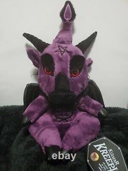 Killstar Kreepture Limited Edition Dark Lord Purple Haze 156/666 SOLD OUT Plush