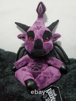 Killstar Kreepture Limited Edition Dark Lord Purple Haze 418/666 SOLD OUT Plush