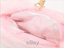 LIZ LISA x My Melody Plush Pochette Stuffed Animal Flower Pink Free Shipping NEW