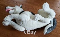 Large 30 Fine Toy Husky Wolf Plush
