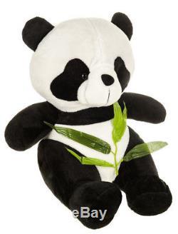 Large 40cm Panda Teddy Bear Cuddly Plush Stuffed Animal Soft Toy Kids Gift Xmas