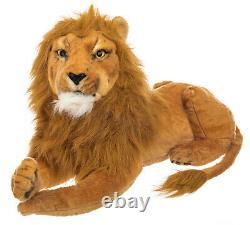 Large 65cm Soft Toy Plush The Lion King Style Teddy Bear Stuffed Simba Mufasa