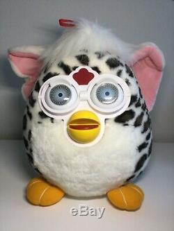 Large Furby Plush Stuffed Toy Big Eyes 16 Jumbo 1999 VERY RARE