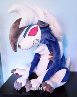Large Pokemon Custom Shiny Midnight Lycanroc Plush Stuffed Animal