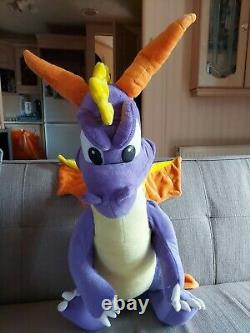 Large Spyro The Dragon Soft Toy Plush 25, Play By Play 2001
