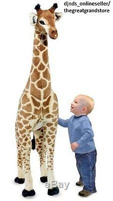 Large Stuffed Animal Giraffe Plush Toy Giant Big Soft Child Kid Safari Huge Doll