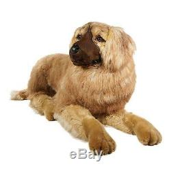 Leonberger by Piutre, Hand Made in Italy, Plush Stuffed Animal NWT
