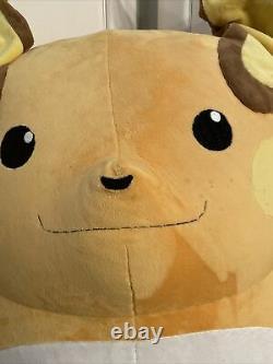 Life Size Raichu Plush Giant Stuffed Animal Huge Pokemon Large Soft Toy Huge
