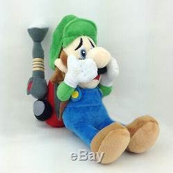 Luigi's Mansion 2 Luigi Super Mario Plush Toy Stuffed Animal Vacuum Cleaner 9