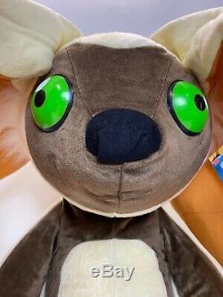 MOMO Avatar The Last Airbender Stuffed Animal 4-Foot RARE! 2005 Preowned