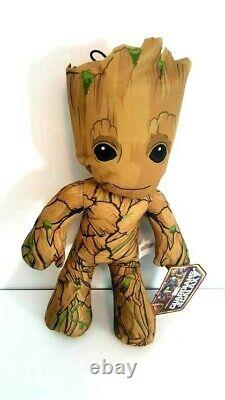 Marvel Guardians of the Galaxy Large 15 Baby Groot Plush. NEW IN BAG