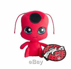 Miraculous Tales of Ladybug & Cat Noir TIKKI & PLAGG PLUSH SET Bandai