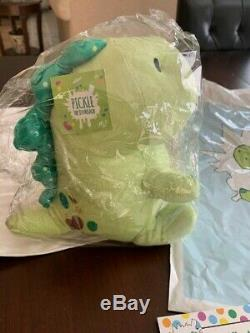 Moriah Elizabeth Pickle The Dinosaur Plush NEW SOLD OUT