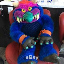 My Pet Monster 1986 American Greetings Giant Plush Vintage AmToy