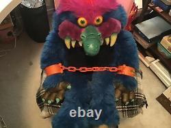 My Pet Monster 1986 Vintage Toy Stuffed Animal Plush 1980s 80s AmToy