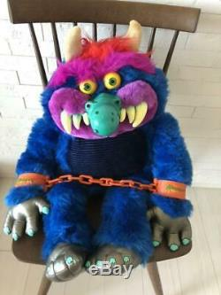 My Pet Monster Stuffed Animal Plush Toy Collectible 1986 Amtoy Rare 65cm F/s