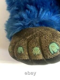 My Pet Monster Vintage Original 1986 Plush Doll With Handcuffs, AmToy, RARE